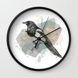 Magpie Wall Clock