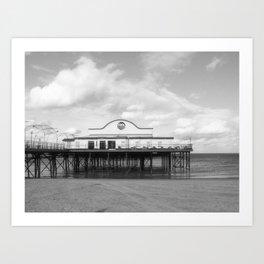 Cleethorpes Pier Art Print