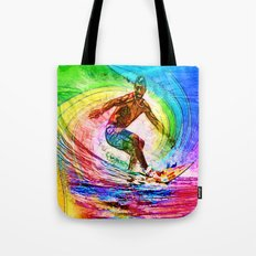 Surf Style Tote Bag