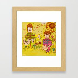 THE BEEaTles Framed Art Print