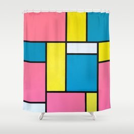 Chutes and Ladders Shower Curtain