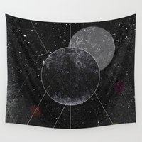 universe Wall Tapestries featuring Universe by jrteerayut