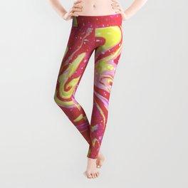 Paint Swirl One: Soleil (Hers) Leggings