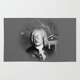 Bach To The Future Rug