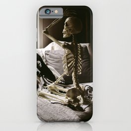 Skeleton Babe 6 iPhone Case