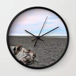 Black Sand Color Sky Wall Clock