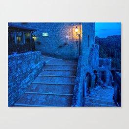 Pitigliano Canvas Print