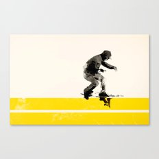 Slide on stripes Canvas Print