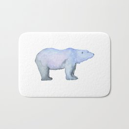 Les Animaux: Polar Bear Bath Mat