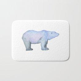 Les Animaux: Polar Bear Bath Mat