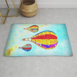 Beautiful Balloons Mosaic-Look Rug