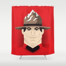 Mountie Shower Curtain