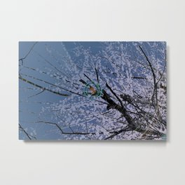 Plum tree EX Metal Print