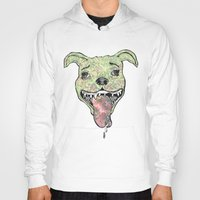 the hound Hoodies featuring City Hound by Neojunkie