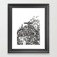 Mound II (from 'The Patriot's Daughter') Framed Art Print