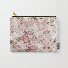 Blush Pink Parsley Foliage Carry-All Pouch