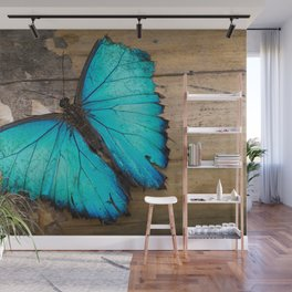 Weathered wings Wall Mural