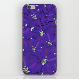 Larkspur Love iPhone Skin