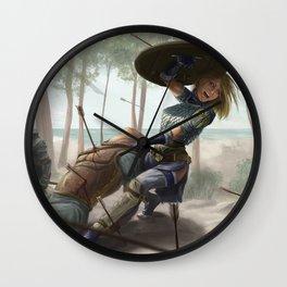 Loria into the Batle Wall Clock