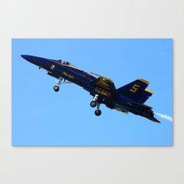 Blue Angels #5 Canvas Print