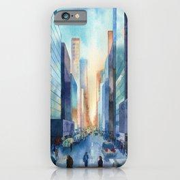 New York. Streets iPhone Case