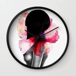 Come Undone Wall Clock