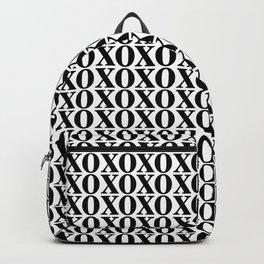 Black XOXO Backpack