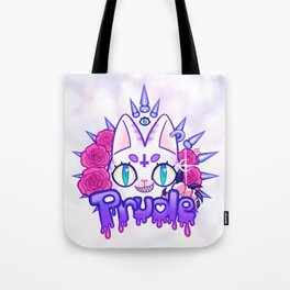 Prude Kitty Tote Bag