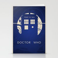 doctor who Stationery Cards featuring Doctor Who by LukeMorgan