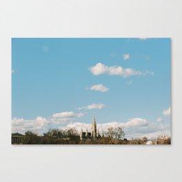 Vienna City Skyline Canvas Print