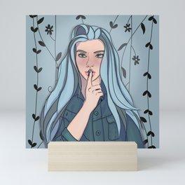 Whisper Secrets in the Garden Mini Art Print