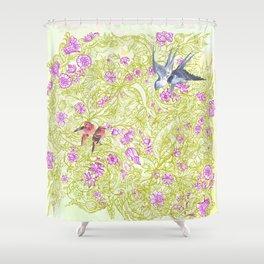 Viva Sweet Love Shower Curtain