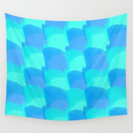 Bluesy Quilt Wall Tapestry