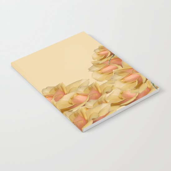 Peach Rose Delight Notebook