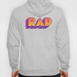 RAD block letters Hoody