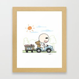 K Young-Outing(1) Framed Art Print