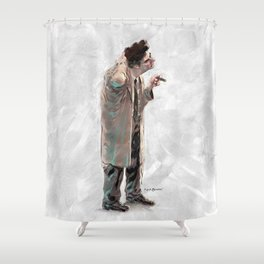Just one more thing. Shower Curtain