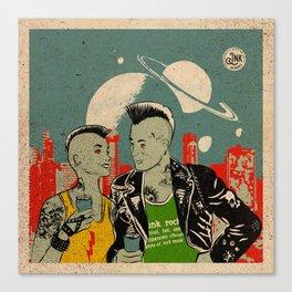 Alien Punks Canvas Print