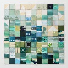 Sea Marks 3 Canvas Print