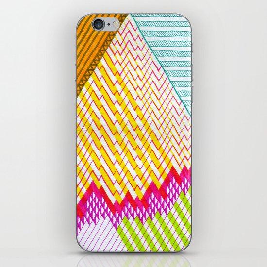 Isometric Harlequin #6 iPhone & iPod Skin