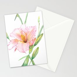 Happy lily Stationery Cards