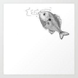 Little Bluegill Art Print