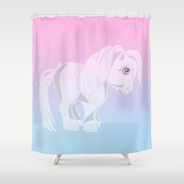G1 My Little Pony Shower Curtain By Gertee