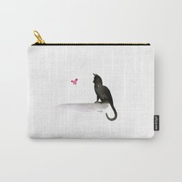 I Love Cats No.4 by Kathy Morton Stanion Carry-All Pouch
