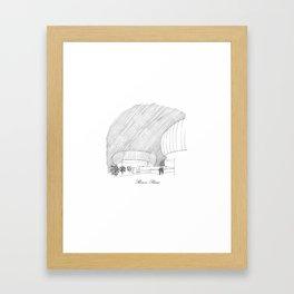 Renzo Piano Framed Art Print