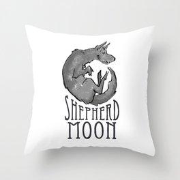 Shepherd Moon Throw Pillow