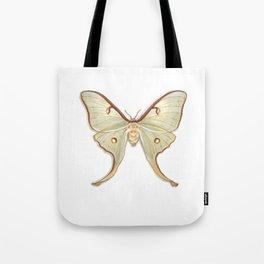 Butterflies: Luna Moth Tote Bag