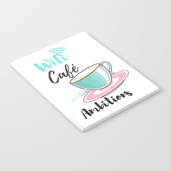 WiFi Café Ambitions Notebook