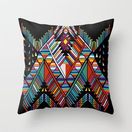 Geo Sushi Throw Pillow