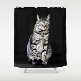 Who goes there Shower Curtain